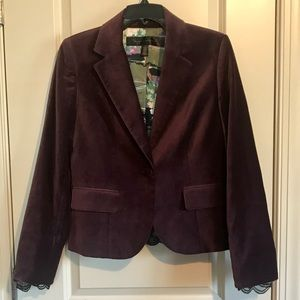 Beautiful Plum Blazer by Apostrophe size 8